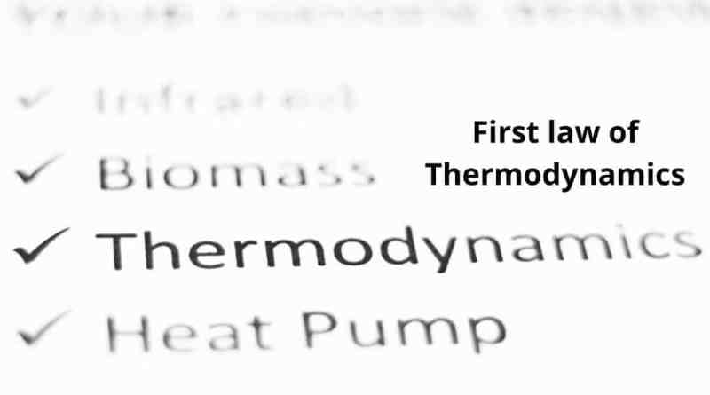 First law of Thermodynamics Equation & Definition