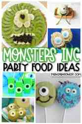 Monsters Inc Mike Wasowski Food Ideas · The Inspiration Edit
