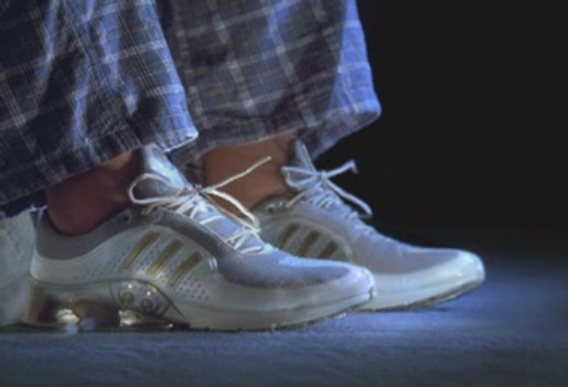 Adidas Intelligent Laces in Hello Tomorrow TV Ad
