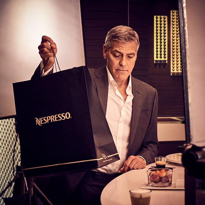 Nespresso Change Nothing - George Clooney