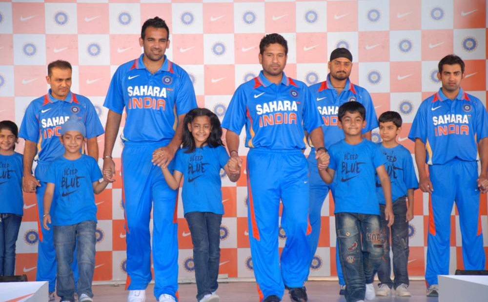 Photos Environment Friendly Jerseys For Team India: Nike Bleed Blue For India Cricket