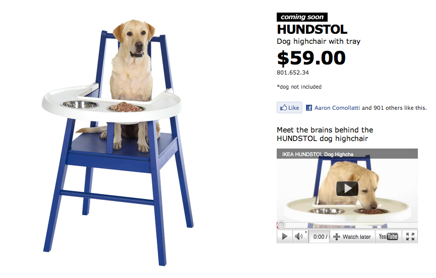 dog high chair red wingback slipcover ikea hundstol the inspiration room