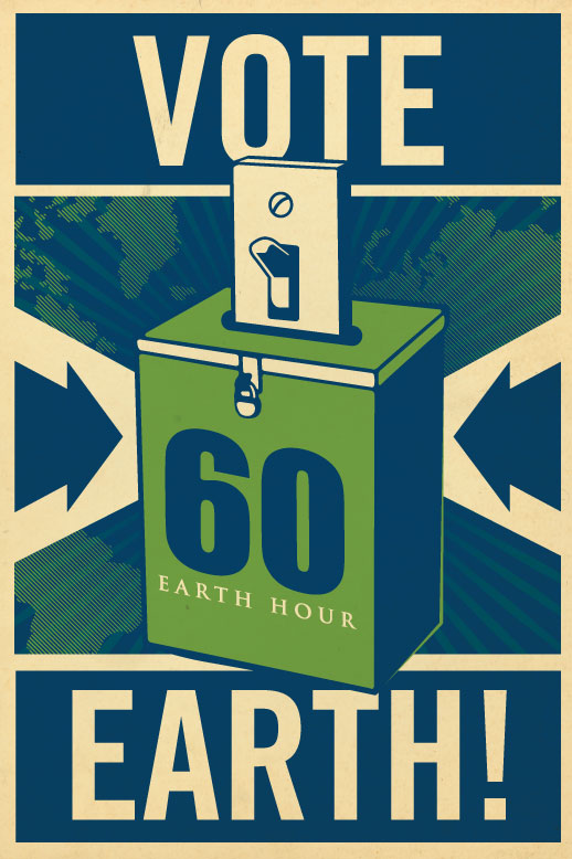 Vote Earth for Earth Hour