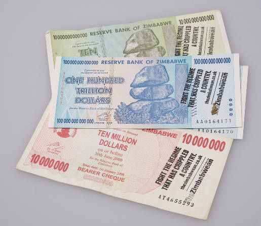 The Zimbabwean message on Trillion Dollar Notes