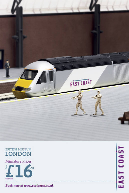 East Coast Trains Miniatures Mummies
