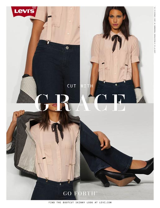 Levis Cut with Grace