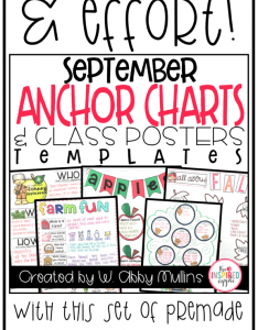 Save time and effort with this set of pre made anchor charts class posters also fall the inspired apple rh theinspiredapple
