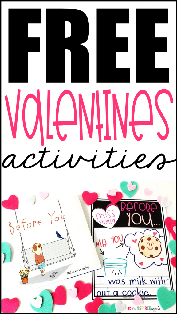 Want a fun and FREE Valentine writing activity? Then you must check out this companion activity to Before You by Rebecca Doughty, with an extension to use with Melanie Watt's You're Finally Here! These are perfect for your kindergarten, first grade, and second grade students.