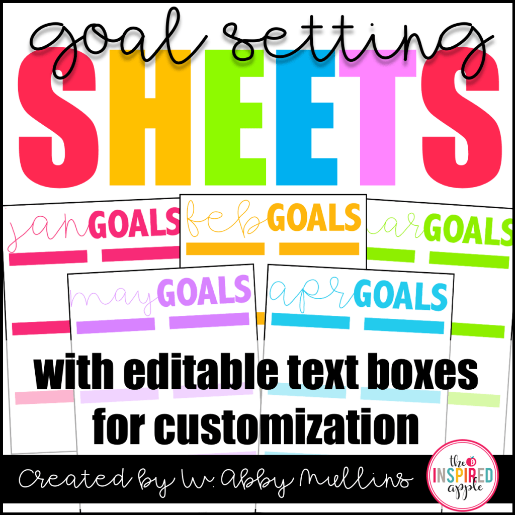 Free Download Goal Setting Worksheets