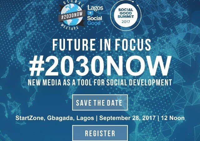 The Stage is Now Set for The Maiden Edition of The Social Good Summit, Lagos Meetup