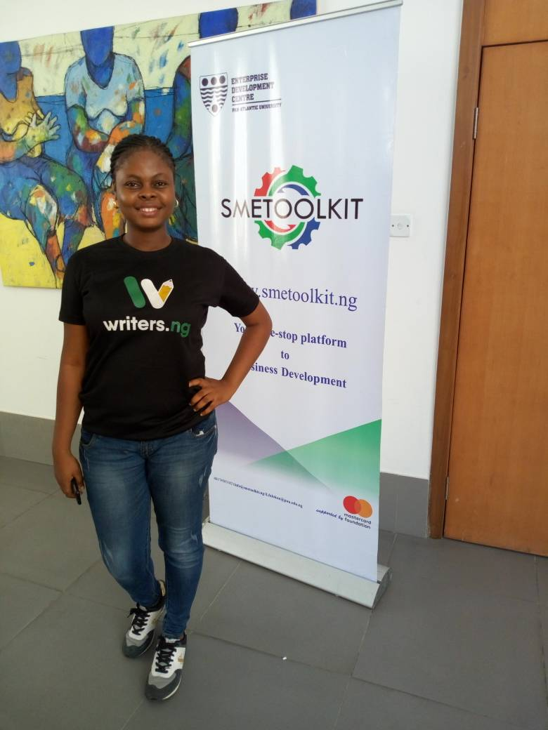 With Writers.ng, all your writing needs are sorted. Meet Sylvia Azi, the Delectable CEO