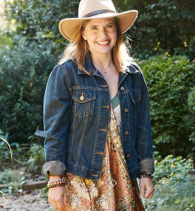 Laura Janney of The Inspired Garden