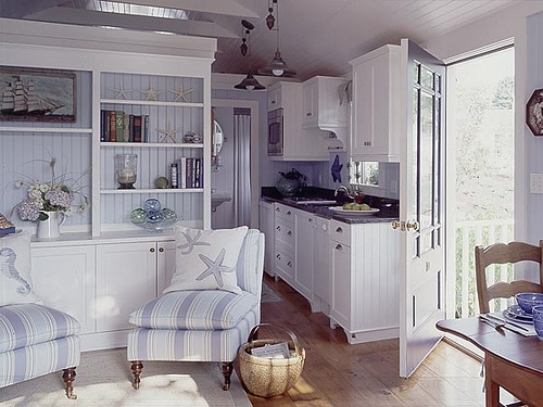 beach cottage style kitchens Cottage Kitchen Inspiration - The Inspired Room