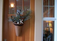 Fall to Winter Front Door Decor - The Inspired Room