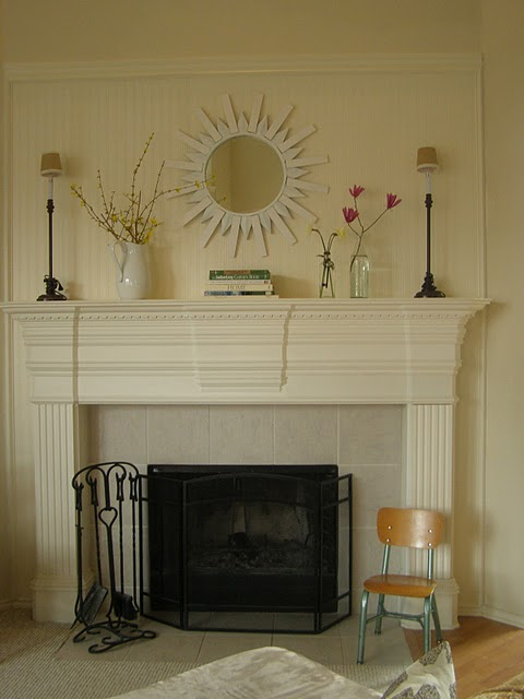 Transform a Wall with Beadboard Wallpaper A Vintage Vine