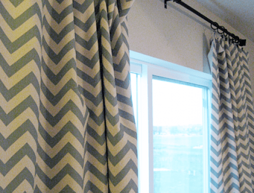 Tutorial How To Sew Lined Curtains The Inspired Room