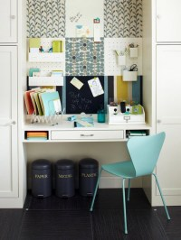Multi-Functional And CUTE! Command Center - The Inspired Room