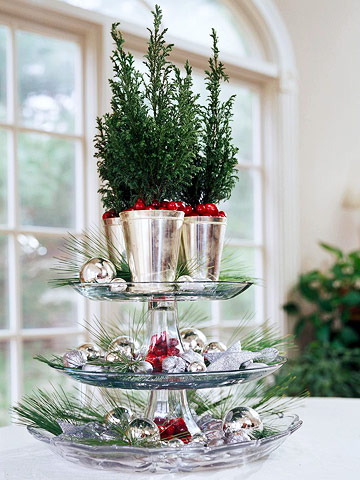 Small & Festive Christmas Trees Ideas For Christmas Decorating