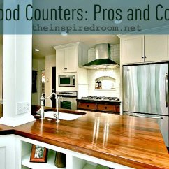 Wood Countertops Kitchen Cost To Reface Cabinets Counters Pros Cons Faq The