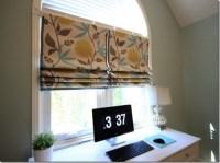 Make Your Own Window Treatment! No Sew Roman Shades {DIY ...