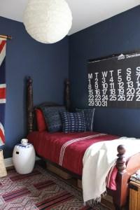 Dark Blue Bedrooms on Pinterest | Royal Blue Bedrooms ...