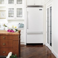 White Appliances Kitchen Island Plans The Inspired Room