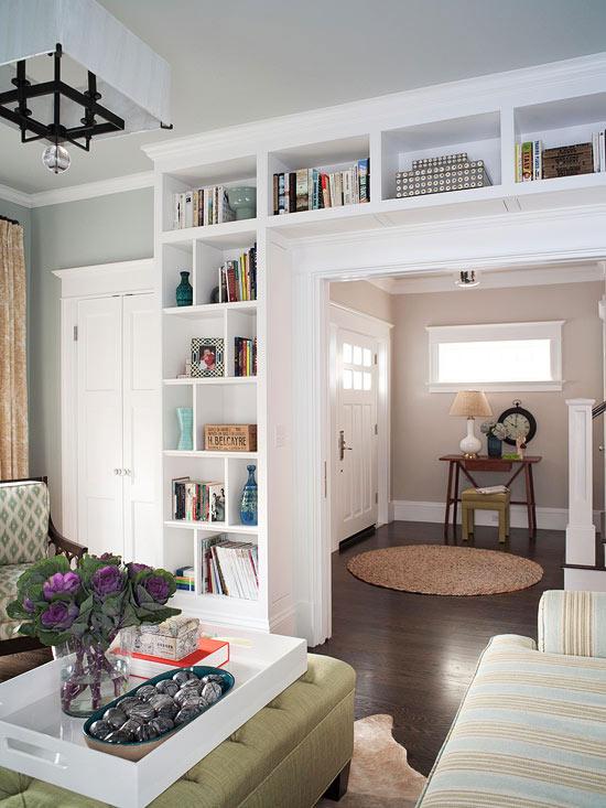 Builtin Bookcases