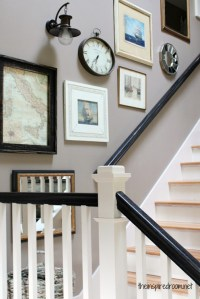 Stairway Wall Decor. Great Large Size Of Living Wall Ideas ...