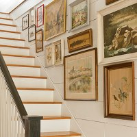 Stair Wall Decorating Ideas | Popular Home Decorating ...
