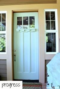 Front Door Makeover - The Inspired Room