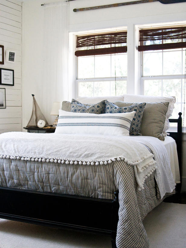 Winter Bedrooms {layers}  The Inspired Room