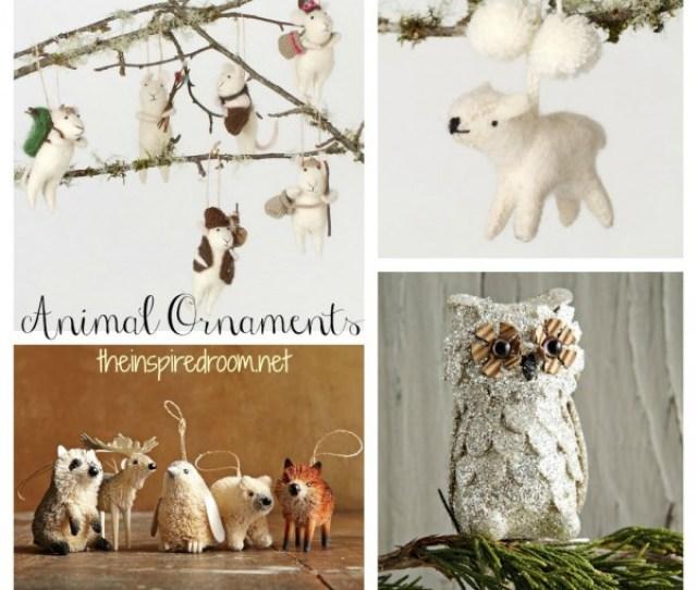 Inspiration Animal Christmas Ornaments