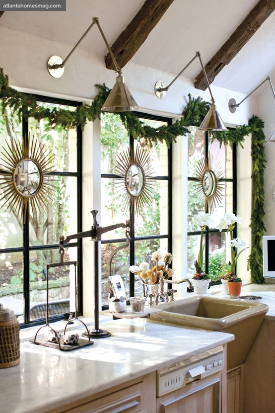 {Dreaming} Simple Christmas Decorating All Through The