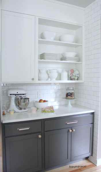 best color for gray kitchen cabinets The Best White Paint - The Inspired Room