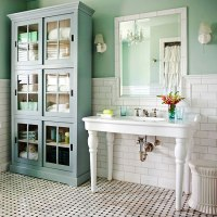 Cottage Style Bathrooms & A Blog Makeover