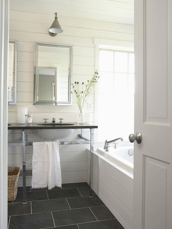 Cottage Style Bathrooms  A Blog Makeover  The Inspired Room