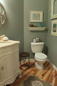 Powder Room, Take Two {2nd Budget Makeover REVEAL!} - The ...