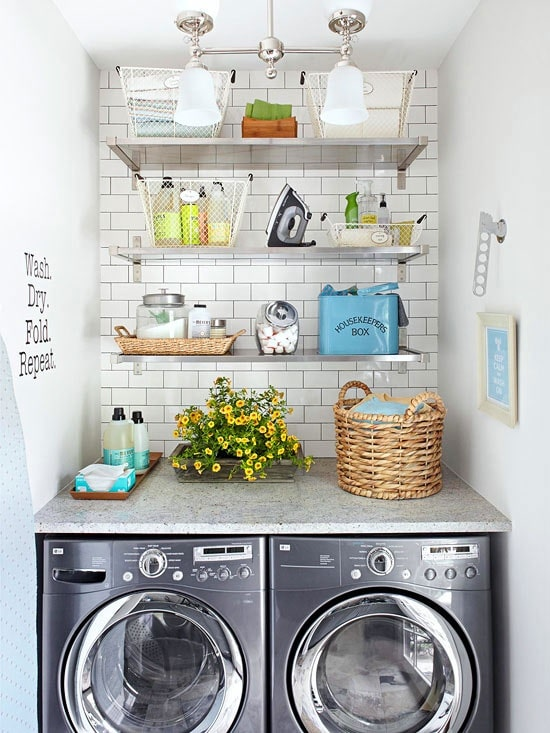 Small-Space-Laundry-Organization