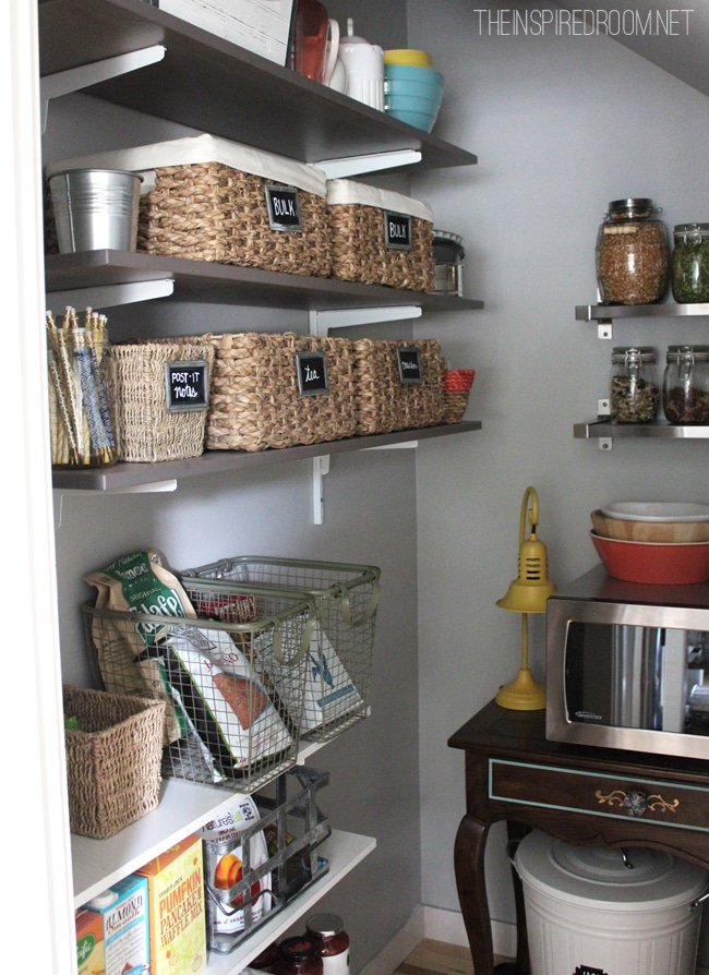 How to have open shelving in your kitchen without daily staging  The Inspired Room