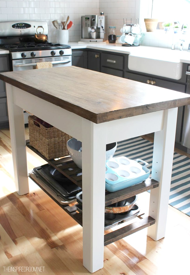 russian river kitchen island build diy how to make a wooden kitchen island top pdf 21569
