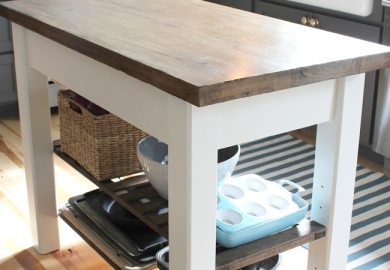 Diy Bookcase Kitchen Island