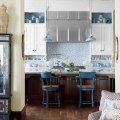 For the love of kitchens blue amp white kitchen the inspired room