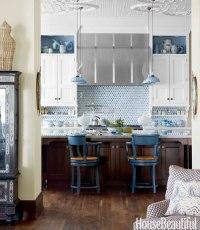 {For the Love of Kitchens} Blue & White Kitchen