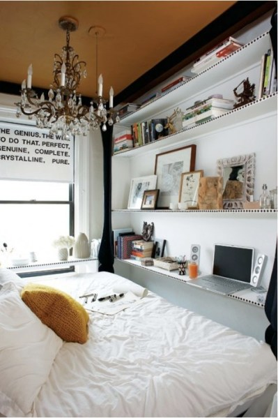 small apartment bedroom idea Small Bedroom Ideas - The Inspired Room