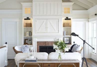 Images About Cozy Cottage Living Rooms On