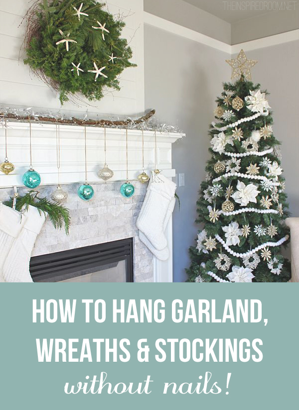 Remodelaholic How To Hang Stockings Without A Mantel 1000+ Images About Holiday On Pinterest | Trees, Christmas
