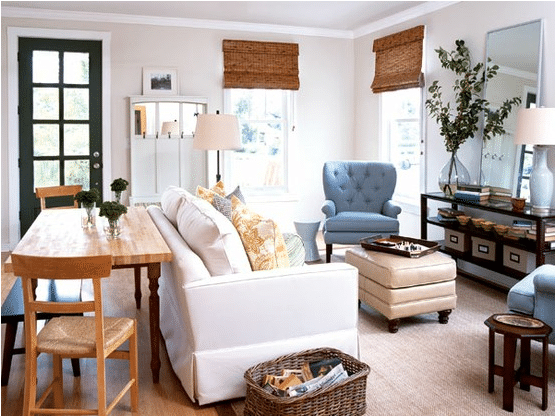 living rooms for small spaces room colours with grey sofa house solutions the inspired my home ideas cottage