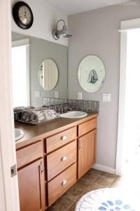 easy bathroom makeover ideas bathroom makeover diy weekend ...
