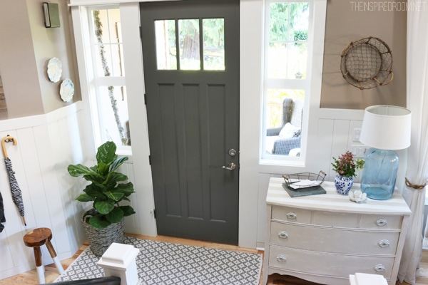 Benjamin Moore White Dove Kitchen Cabinets Paint Colors {my House} - The Inspired Room