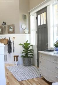Front Door Refresh - The Inspired Room